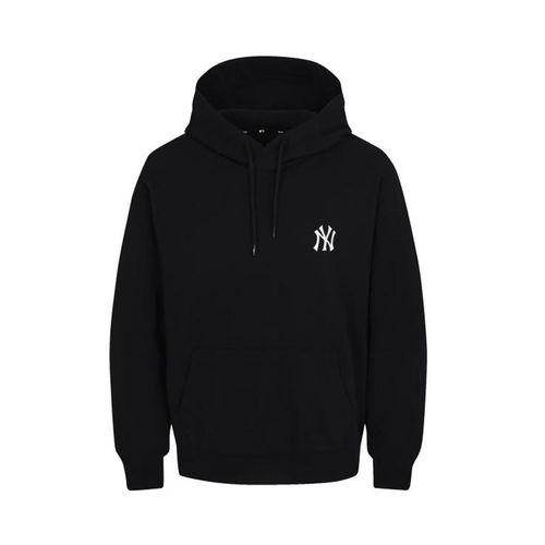 Áo Hoodie MLB Big Logo Màu Đen Size XS