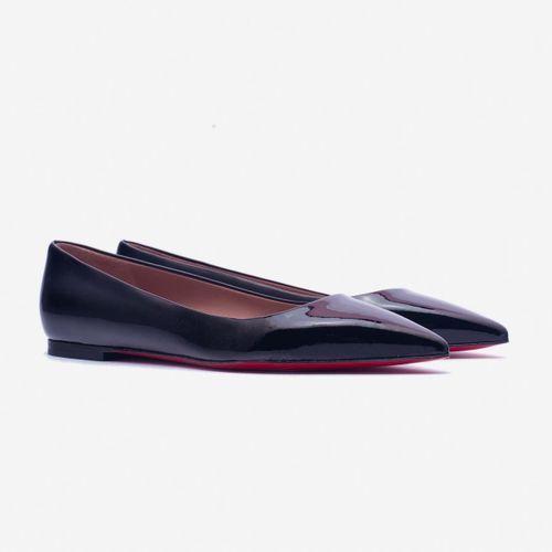 Giày Bệt Giovanni DM009-BL Màu Đen Size 35
