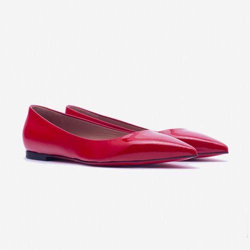 Giày Bệt Giovanni DM009-DR Màu Đỏ Size 37.5