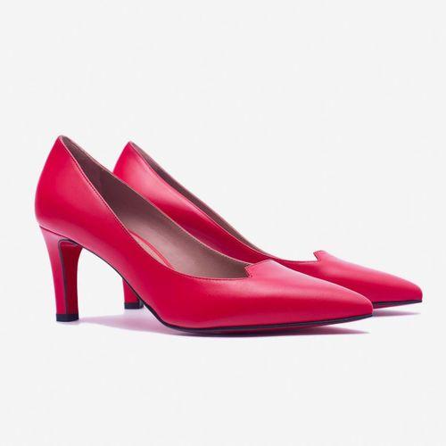 Giày Cao Gót Giovanni DM014-RE Màu Đỏ Size 35.5