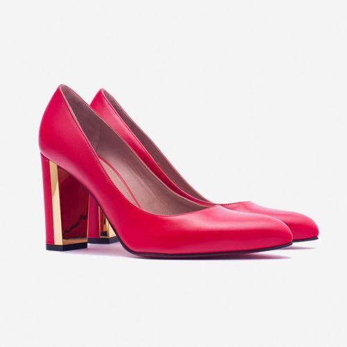 Giày Cao Gót Giovanni DM015-RE Màu Đỏ Size 38
