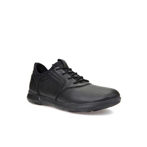Giày Nam Geox U NEBULA S C PRINT LEA+NAPPA Màu Đen Size 44