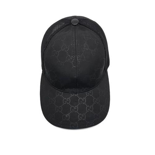 Mũ Gucci Original GG Canvas Black