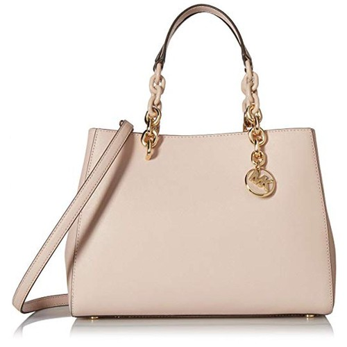 Túi Xách Michael Kors Women's Cynthia Hobos and Shoulder Bag Size M, Soft Pink
