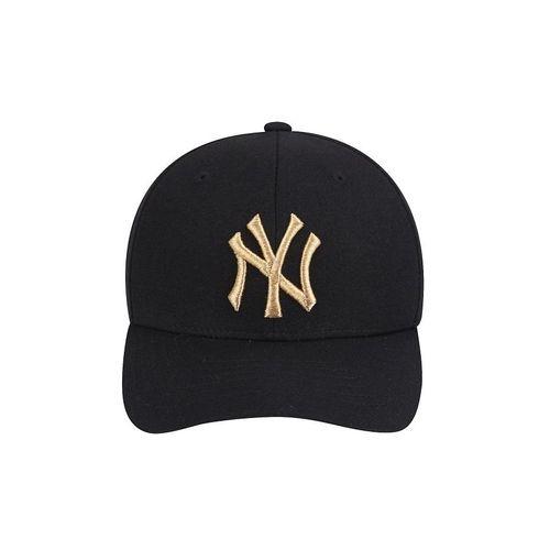 Mũ MLB New York Yankees Glam Adjustable Cap Black