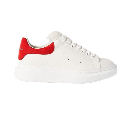 Giày Sneaker Alexander McQueen Red Suede Oversized