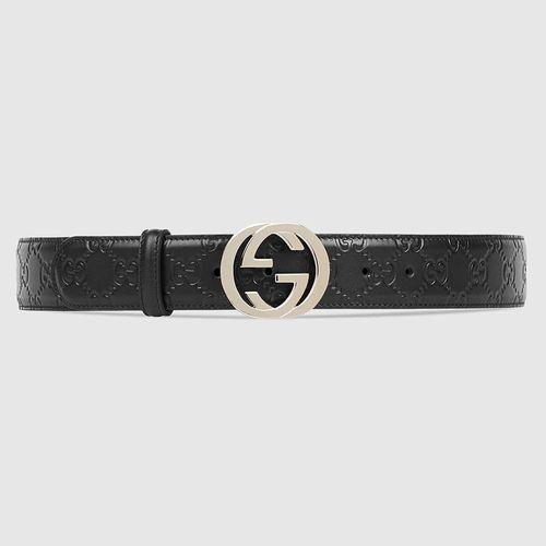 Thắt Lưng Gucci Signature Leather Belt