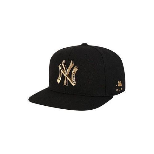 Mũ MLB New York Yankees Metal One-Point Snapblack