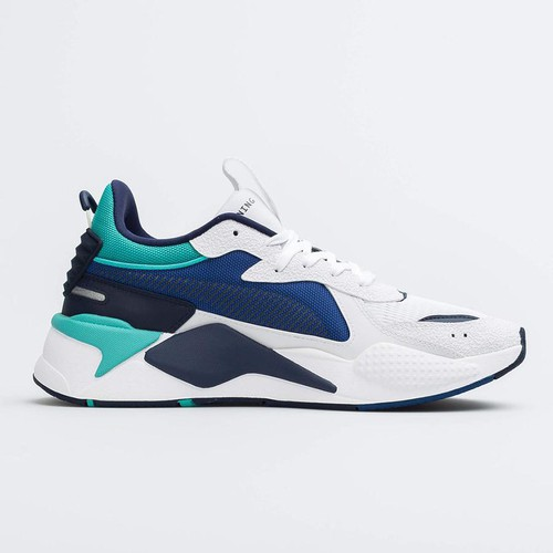 Giày Sneakers Puma RS-X Hard Drive Unisex White/Galaxy Blue Size 42