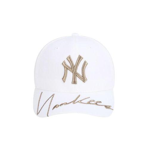 Mũ MLB New York Yankees Kelly Curve Cap Màu Trắng