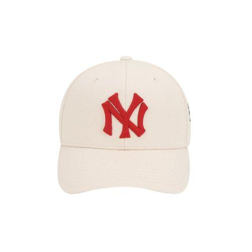 Mũ MLB New York Yankees Rose Bee Adjustable Cap Màu Trắng Kem