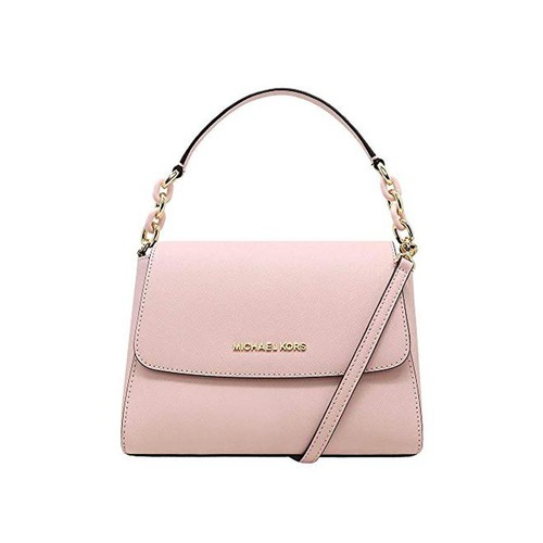 Túi Xách Michael Kors Sofia Small EW Saffiano Leather Satchel Crossbody Màu Hồng