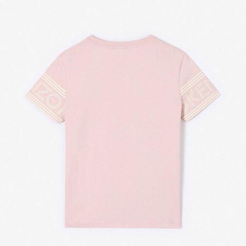Áo Phông Kenzo Logo T-shirt Màu Hồng Cho Nữ