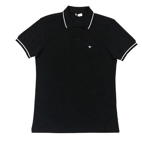 Áo Polo Dior Bee Short Sleeve Polo Shirt Màu Đen