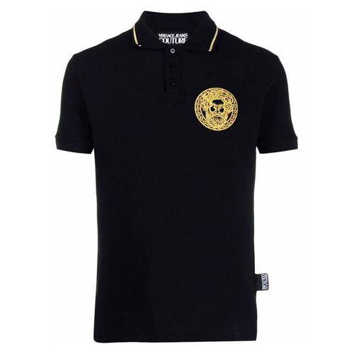 Áo Polo Versace Logo Màu Đen cho Nam