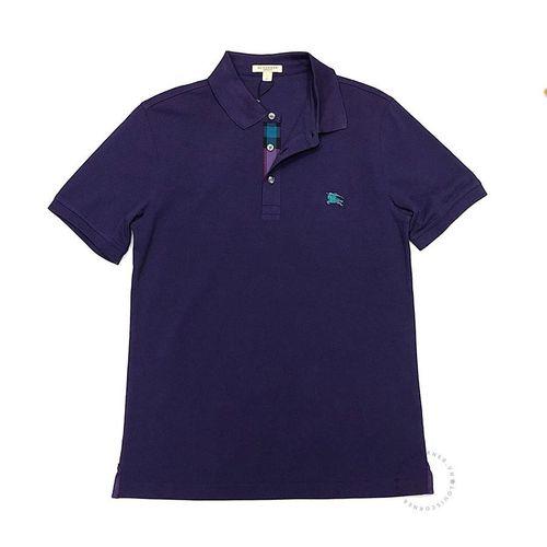 Áo Polo Buberry Cotton Short Sleeve Polo Shirt Màu Tím
