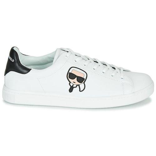 Giày Sneaker Karl Lagerfeld Kourt Karl Ikonic 3d Lace Màu Trắng
