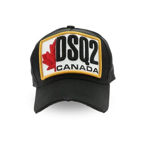 Mũ DSquared2 DSQ2 BCM0245 Patch Canada Baseball Cap Màu Đen