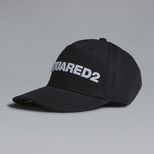 Mũ Dsquared2 Embroidered Baseball Cap Màu Đen