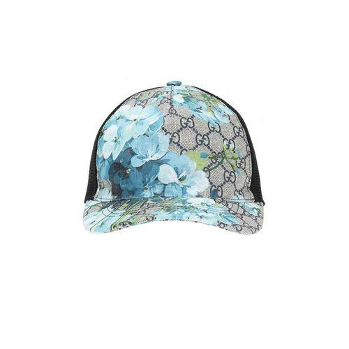 Mũ Gucci Blue GG Blooms Baseball Hat