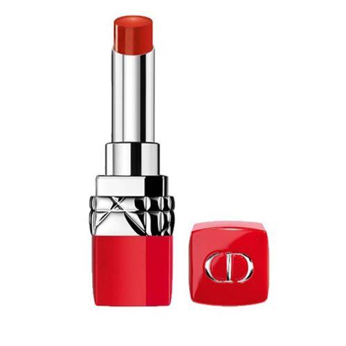 Son Dior 436 Ultra Trouble - Ultra Rouge Vỏ Đỏ Màu Cam Cháy