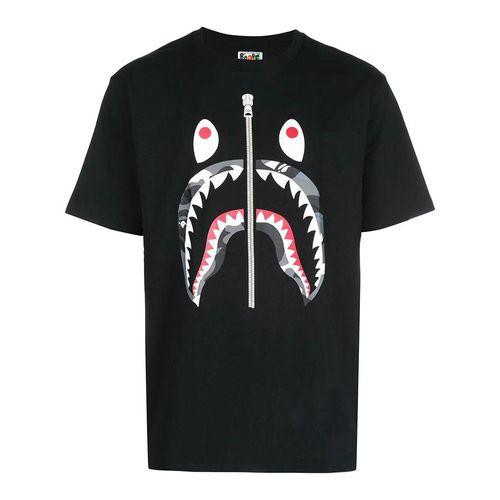 Áo Phông Bape Graphic Print T-Shirt M110026DBKX Màu Đen