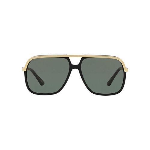 Kính Mắt Gucci Sunglasses Black / Gold GG0200S 001
