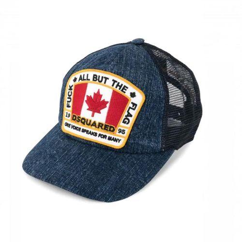 Mũ DSquared2 Canadian Flag Baseball Cap