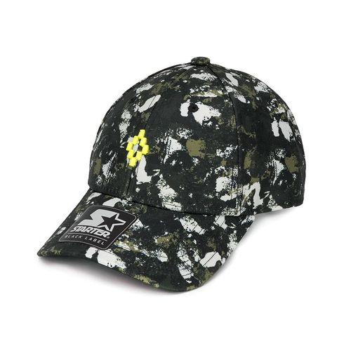 Mũ Marcelo Burlon County Of Milan Camouflage-Print Baseball Cap Phối Màu
