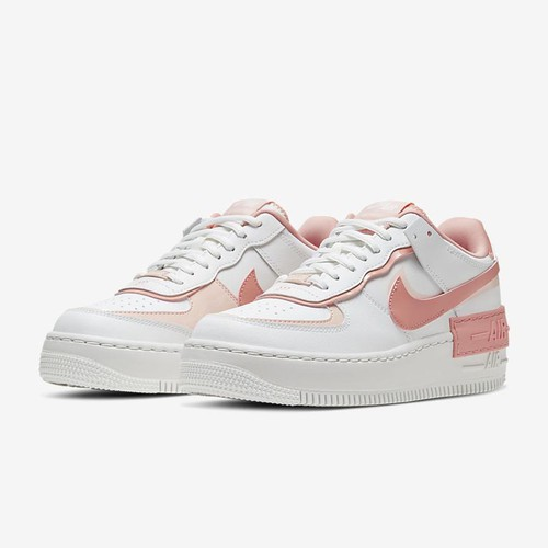 Giày Nike  Air Force 1 Shadow White Coral Pink CJ1641-101