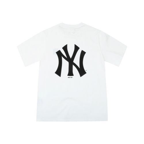Áo Phông MLB New York Yankees Popping Big Logo Short Sleeve T – Shirt White Size 95