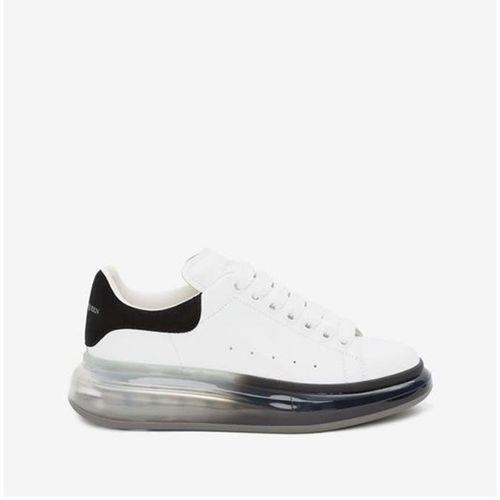 Giày Alexander McQueen Oversized Sneaker Phối Màu Trắng Đen Size 40