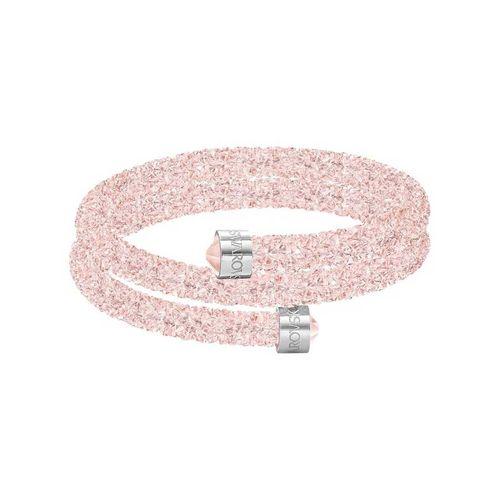 Vòng Đeo Tay Swarovski Crystaldust Pink Double Bangle