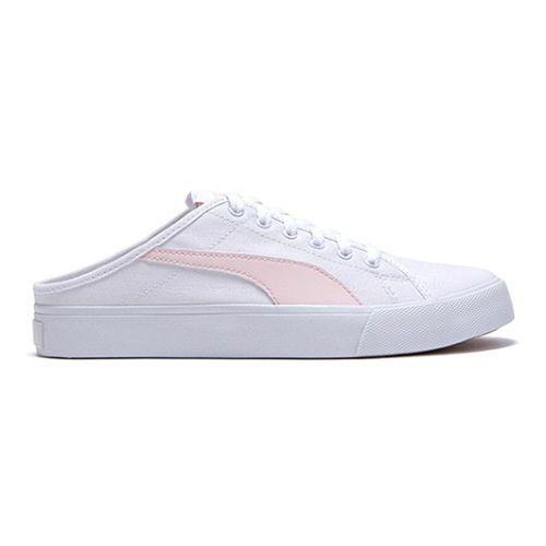 Giày Puma Mule Pink Màu Trắng Phối Hồng Size 38