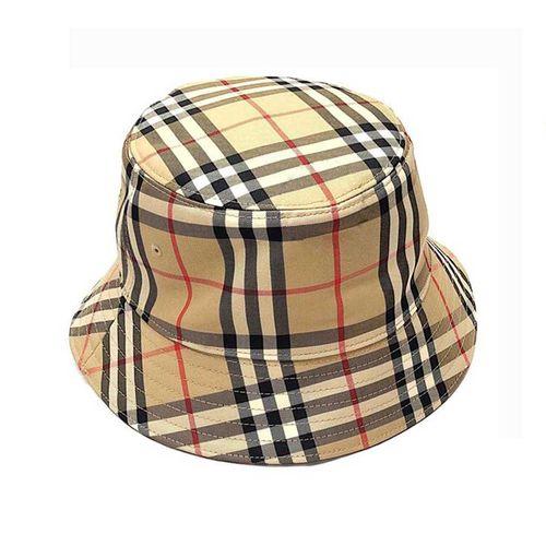 Mũ Burberry London England Camel Check Cap Size M