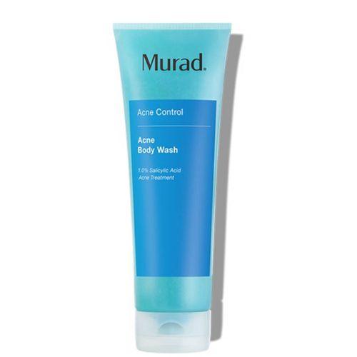 Gel Tắm Kiểm Soát Mụn Cơ Thể Và Tẩy Tế Bào Chết Dịu Nhẹ Murad Acne Body Wash 250ml