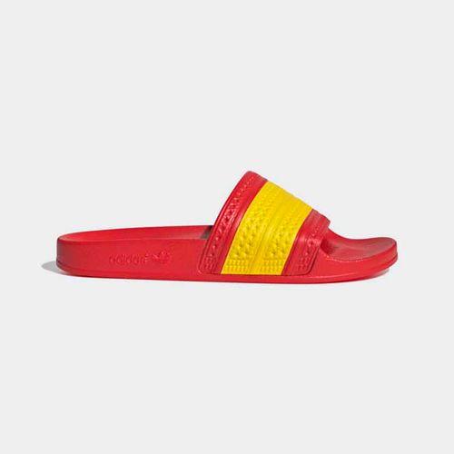 Dép Quai Ngang Adidas Adilette G55382 Màu Đỏ Vàng