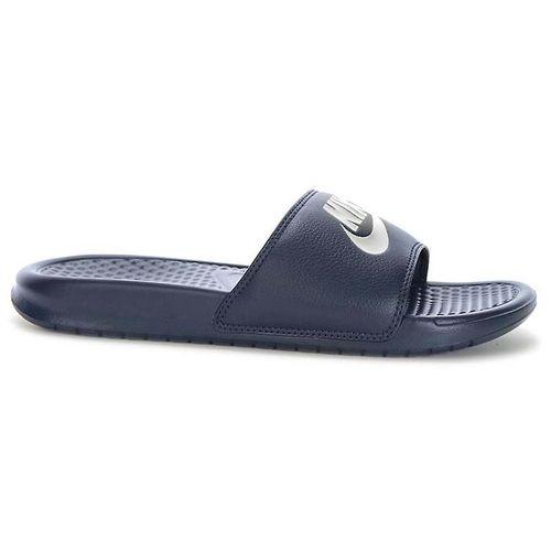 Dép Nike Benasi JDI 343880403 Universal Summer Men Shoes Màu Xanh Navy Size 38.5