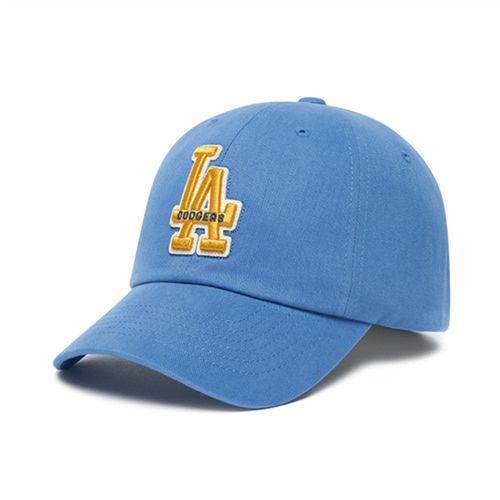 Mũ MLB Applique Logo Unstructured Ball Cap La Dodgers 3ACP0601N-07BLD Màu Xanh Blue