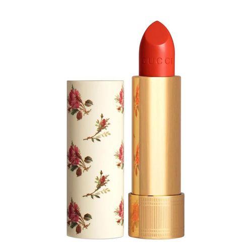 Son Gucci Rouge À Lèvres Satin Lipstick Màu 302 Agatha Orange Màu Đỏ Cam