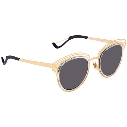 Kính Mát Dior Gray Browline Ladies Sunglasses DIORENIGME 000/Y1 51