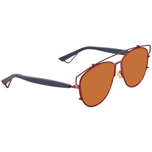 Kính Mát Dior Technologic Orange Fuschia Mirror Geometric Ladies Sunglasses DIORTECHNOLOGIC TVH/MJ 57