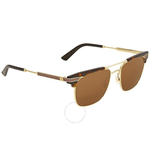 Kính Mát Gucci Brown Square Sunglasses GG0287S 003 52