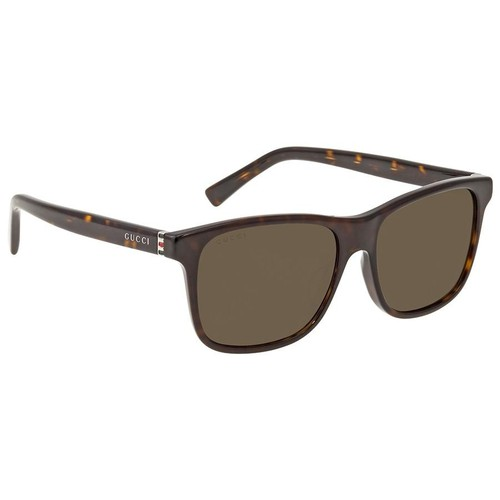 Kính Mát Gucci Brown Rectangular Men's Sunglasses GG0451SA00254