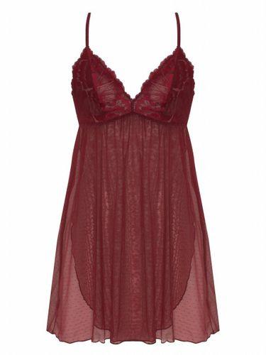 Đầm Ngủ Corele V - Nuisette - N025A Đỏ Boóc-đô L