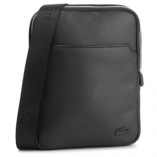 Túi Lacoste Men's Small Leather Goods Black