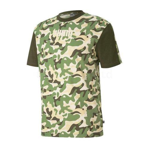 Áo Thun Puma Rebel Camo T-Shirt  Màu Xanh - Nâu Size S