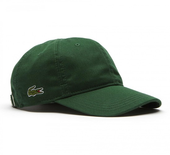 Mũ Lacoste Men's Gabardine Cap Green