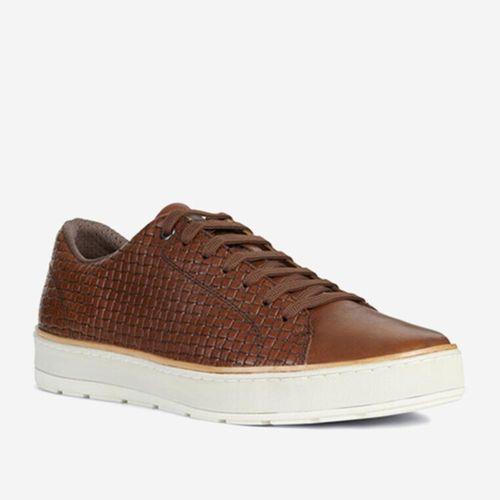 Giày Sneakers Nam Geox U ARIAM C WOVEN PR.BUFF+BUFF Màu Nâu Size 44