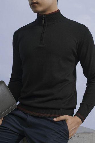 Áo Len Nam Giovanni UA006-BL Màu Đen Size 52